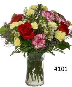 Rose carnations Bouquet