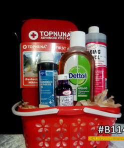 Get Well First Aid kit Basket