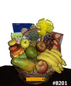 Fruit and goodies basket delivery Jamaica